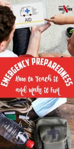 We never thought it would happen but the realities of emergency preparedness hit our home. It's a serious topic, but here are ways to make preparedness fun.