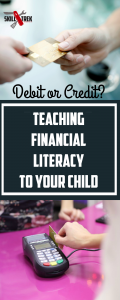 Balancing a checkbook, staying away from credit cards, creating a budget. These are all financial literacy skills that many of our children are lacking. Here's how to fix that!