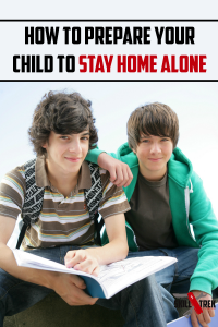 The thought of leaving your child home for the first time can send anyone's heart into a panic. Fear not, here are some tips to help you prep your child for staying home alone for the first time.