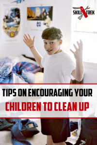 Do you struggle getting your kids to help clean up around the house? Here are some tips to help make cleaning up a family affair!