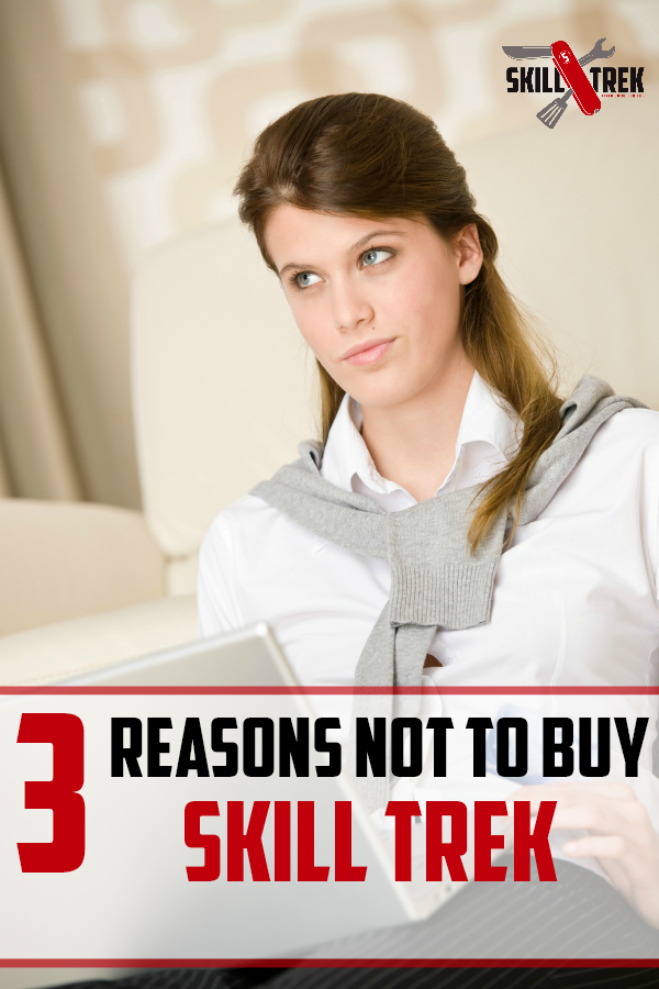 Are you thining about buying Skill Trek for your family? Wondering why you maybe shouldn't buy Skill Trek? Believe it or not, there are three reasons why you should NOT buy Skill Trek. Want to guess what they are?
