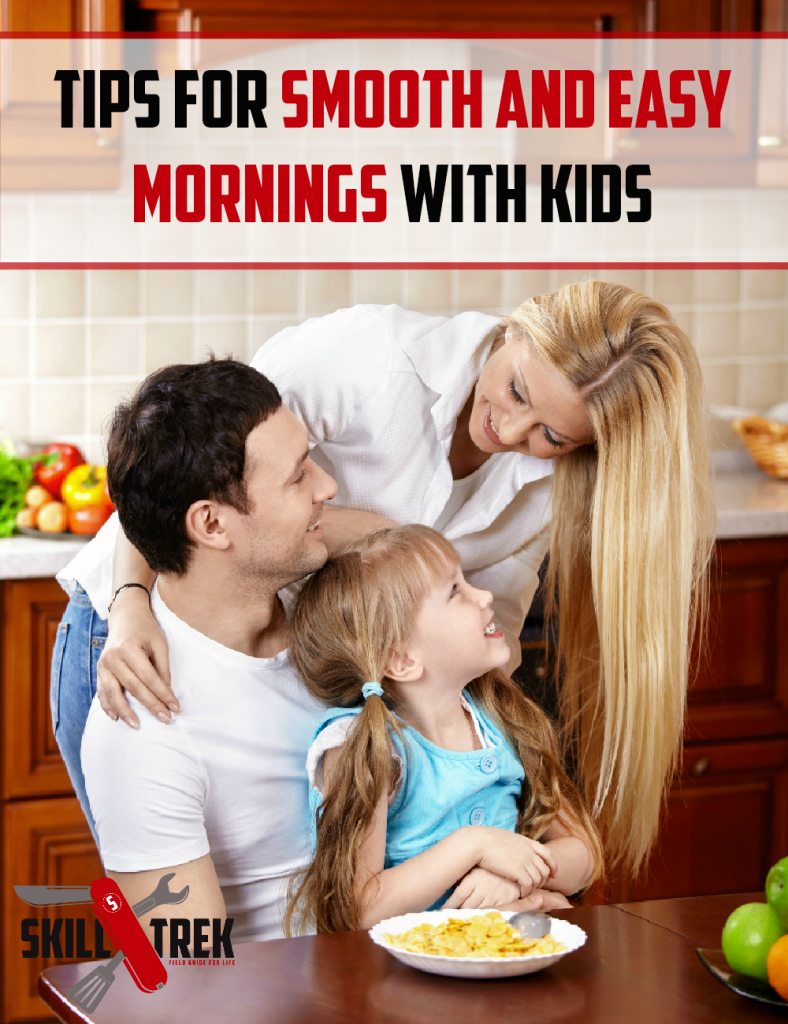 Are your mornings hectic? Stressful? Do you long for more? Here are some tips and tricks to help you have smooth and easy mornings with kids!