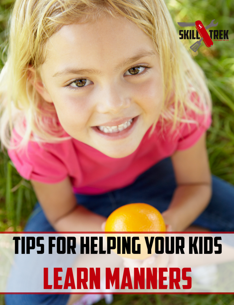 Helping your kids learn manners is a part of life. You can teach your kids manners! Here is how!