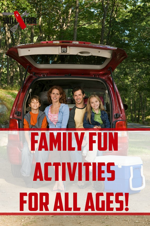 Looking for new ideas for family fun? Here are some great family fun activities the whole family will enjoy!