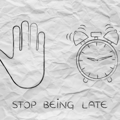 How to Stop Being Late to Everything
