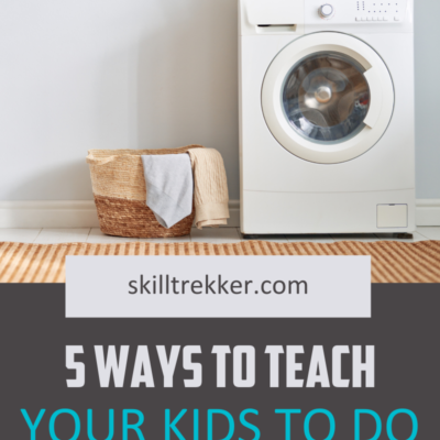 5 Ways to Teach Your Kids to Do Laundry