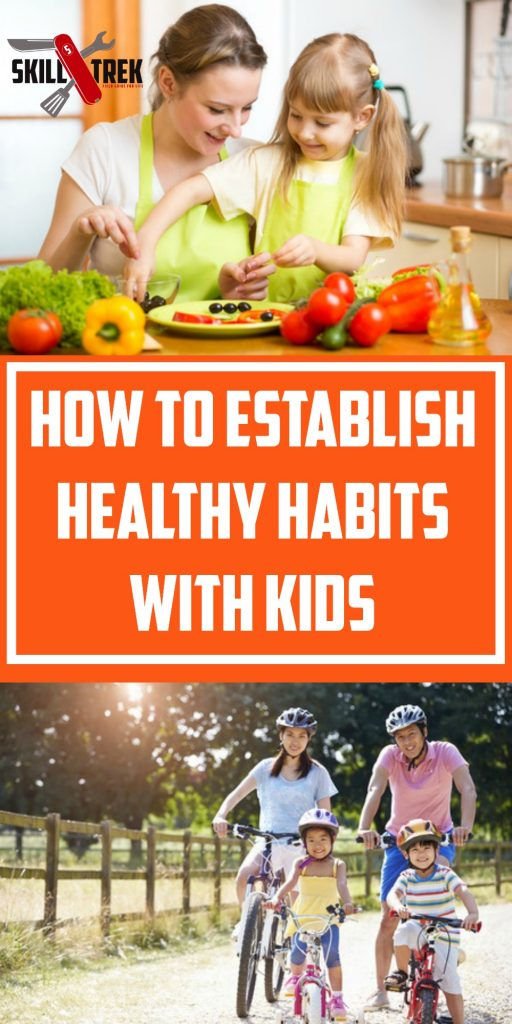 When is the best time to establish healthy habits with kids? Now! Here are some ways to establish healthy habits in your home that will benefit the whole family.