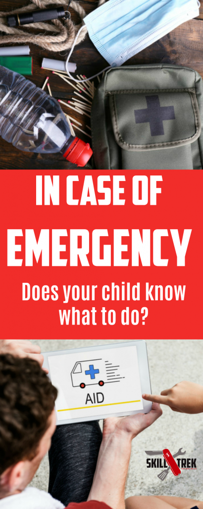In case of emergency, does your child know what to do? You may think they are prepared, but emergency preparedness goes beyond just calling 911. Equip your children today!