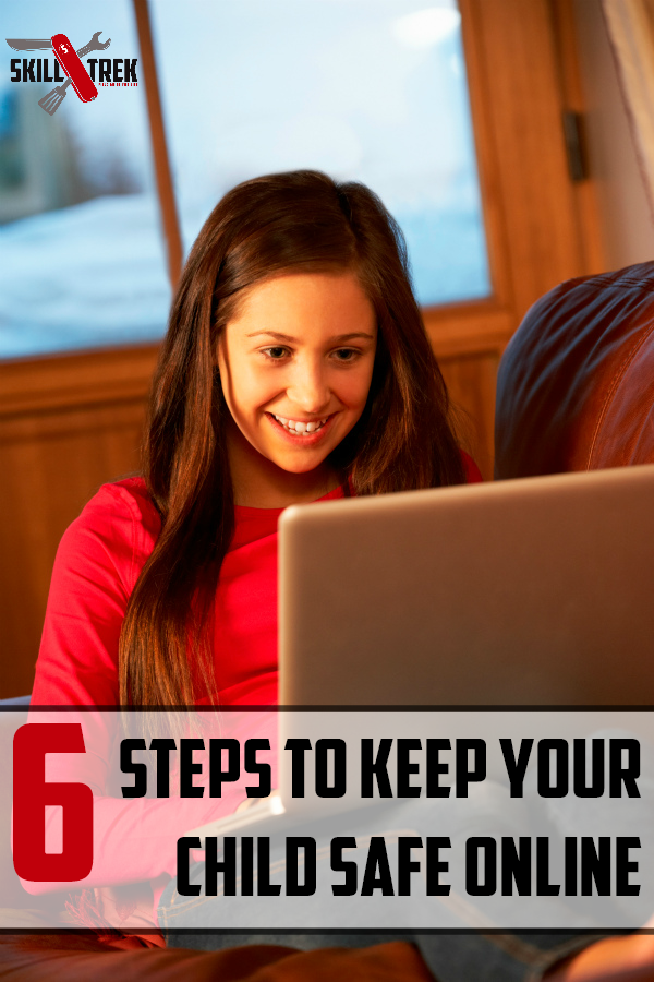 Are you wondering what you can do to help your child stay from online predators? Here are six steps to keep your child safe online.