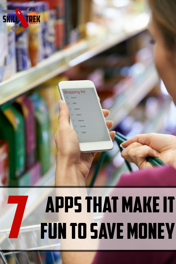 How can you make saving money into something more fun? Download a money saving apps! Here are seven money savings apps to check out! These are fun budgeting and couponing apps that can help you save money!