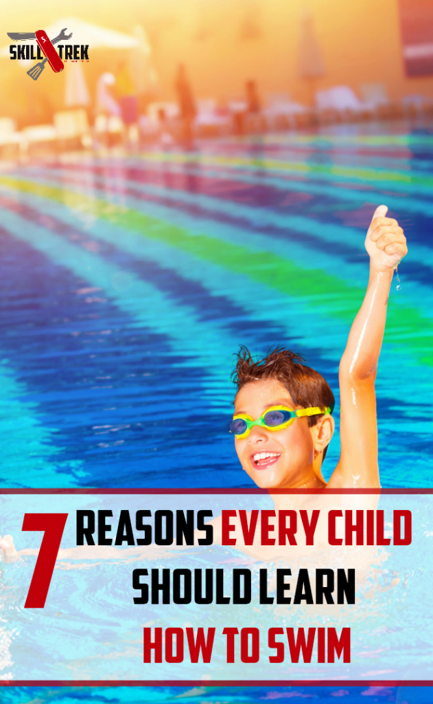 Every child needs to learn how to swim. As parents, it is our job to ensure this happens. As we are entering summer here are a few reasons to go ahead and teach your child how to swim.