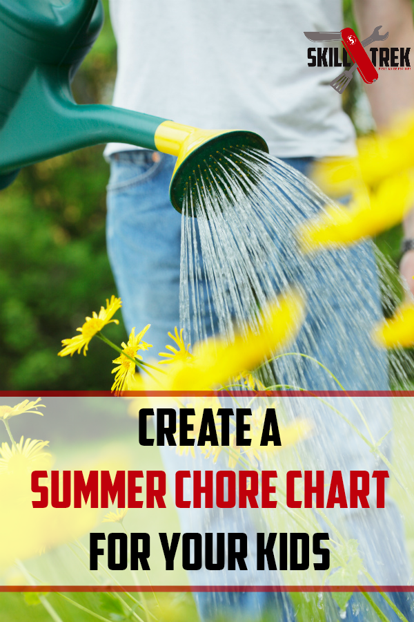 Summer is here and with it comes lots of outdoor chores. We want to teach our children responsibility right? Why not create a summer chore chart for your kids? Here are some tips and ideas to get you started with a summer chore chart.