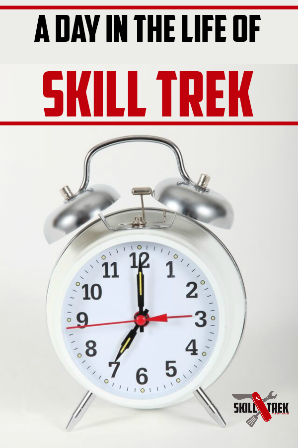 Are you wondering what a day in the life of Skill Trek looks like? Take a peek into the Skill Trek family and what a day in the life of Skill Trek may look like in your home!