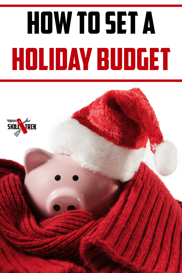 Tis the season for holiday shopping which means you should also have a holiday budget. Learn how to set one, and prepare your kids for this valuable life skills do. This is just one of the 12 skills of Christmas!