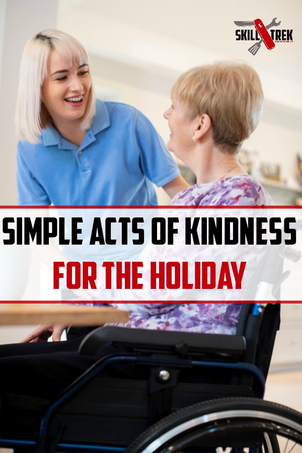 As the holiday season approaches, there is no greater time to teach our children how to be kind. Here are 9 random acts of kindness to focus on this holiday season. Just one of the 12 skills of Christmas!