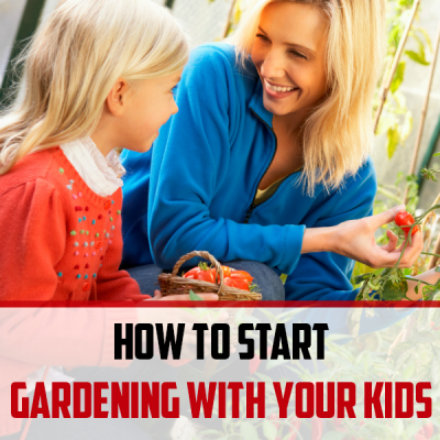 How to Start Gardening with your Kids on a Shoestring Budget