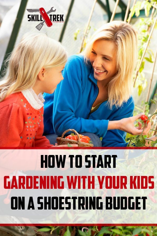 Interested in gardening with your kids? Not sure how to start since you're on a budget? Here are some cool and actionable tips to help you out!
