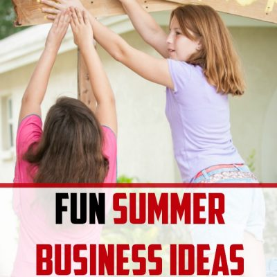 15 Fun Summer Business Ideas for Kids from Elementary to High School